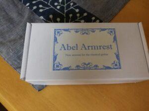 アーベル・ギター・アームレスト(Abel Guitar Armrest)の箱