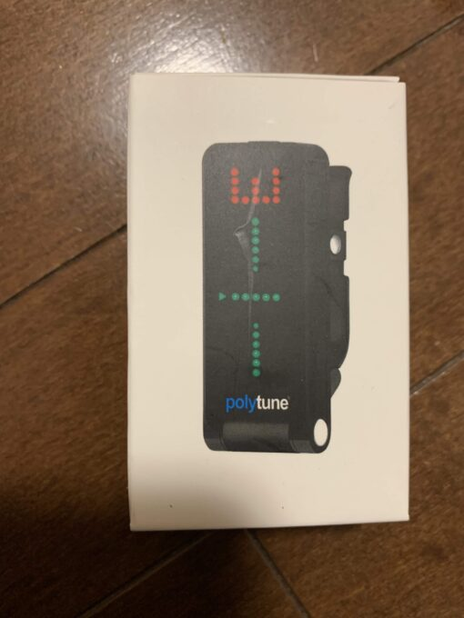 tc electronics POLYTUNE CLIPの箱