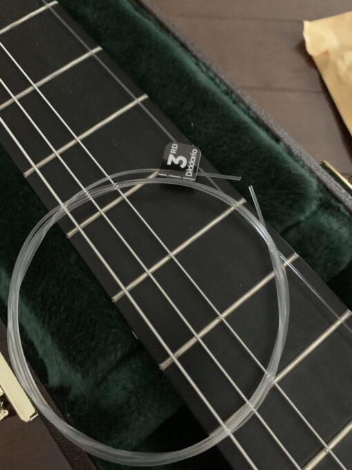 ダダリオのXTC45の3弦を普通の弦と比較