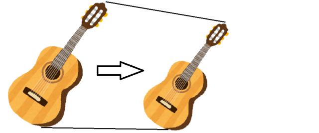 クラシックギターのショートスケールギター(640mm, 630mm, 620mm, 610mm)