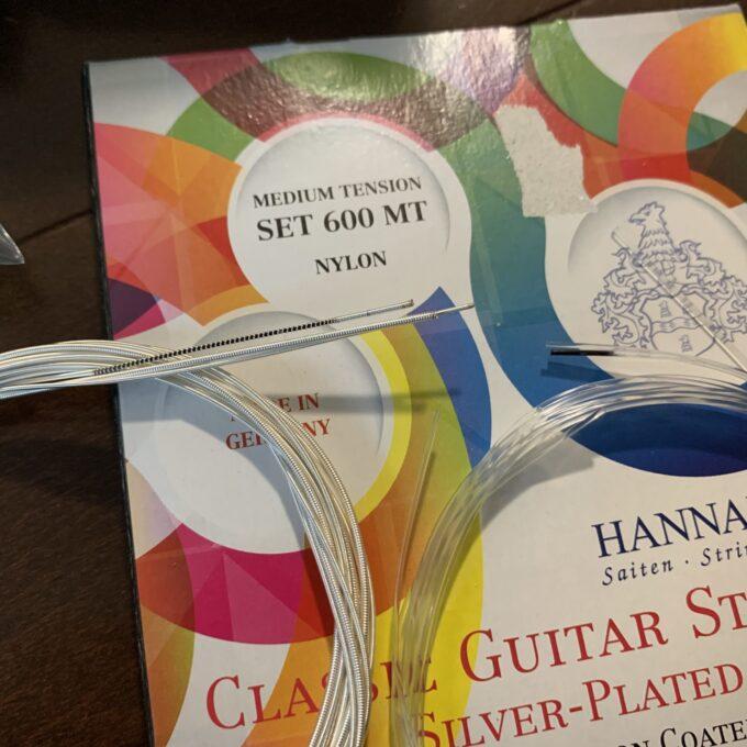 ハナバッハ 600の弦を判別するためのマーク