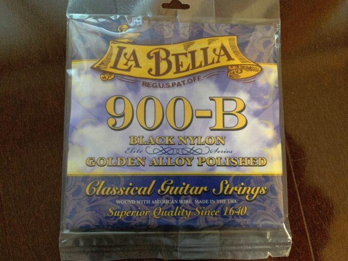 ラベラ 900-B エリート ブラックナイロン&ゴールデンアロイポリッシュ
