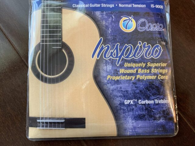 オアシス(Oasis)のクラシックギター弦 Inspiro