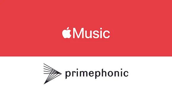 Apple MusicとPrimephonicのロゴ
