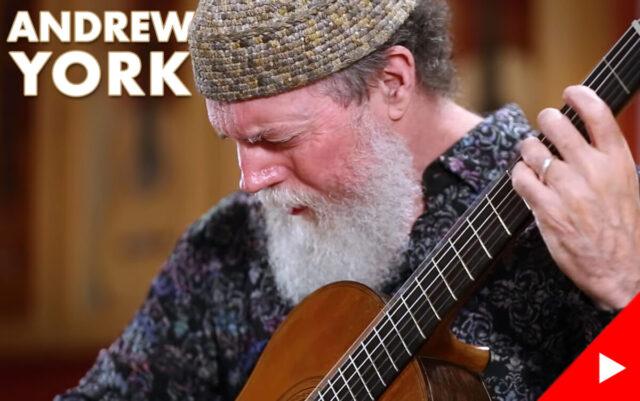 アンドリュー・ヨークがトーレスのギターを弾く動画