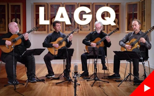 4台のトーレスを弾くLAGQの画像